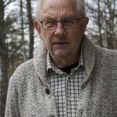 """Thommy Svensson, Brännarebygden, berättade om """"Människor jag mött""""."""