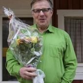 Tommy Wärn avtackades av styrelsen.