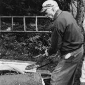 Frans Olofsson, Långasjömåla, 1986 Foto:okänd