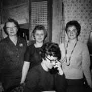 Eufemia, Else-Britt, Kristina och Maj-Lis. Foto: Lilly Kroon