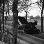Oljegrus på Älmhultsvägen 1964. Foto: Lilly Kroon