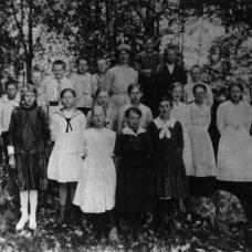 Häradsbäck 1920-1921 Lärare: Blända Johansson