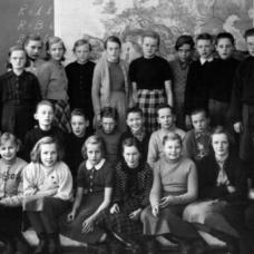 Häradsbäck 1954. Lärare: Ewe Arvidsson
