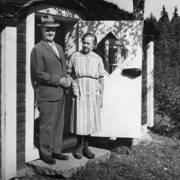 Viktor och Helga Svensson Foto: Lilly Kroon
