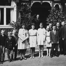 Sista skoldagen i Spjutaretorp 1963.
