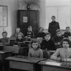 Spjutaretorps skola början av 50-talet
