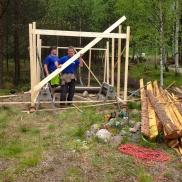 Sven Adolfsson och Mikael Martinsson tog sig an projektet Foto: Anders Magnusson
