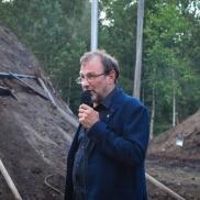 Ingemar Almkvist, kommunalråd Älmhult, invigningstalade