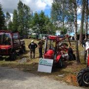 11/7 Skogsdag med små skogsmaskiner. Gösta Gustafsson Foto: Anders Magnusson