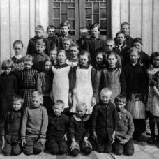 Häradsbäcks skola 1925-26 Lärare: Ester Urzander/Alma Nilsson