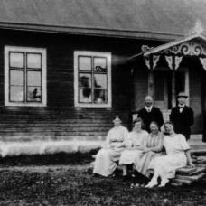 Karsemåla skola 1924. Lärare: Blända Johansson/Axel Henriksson