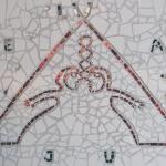 Delat ljus Mosaik