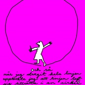 Cirkel gott nytt år