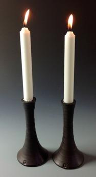 Ljusstake - Ljusstake svart
