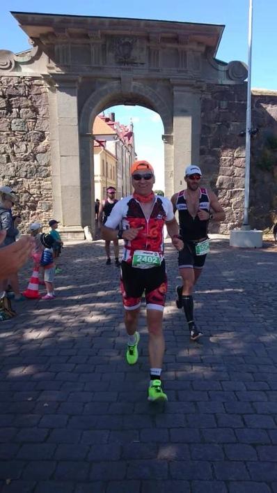Bara 40 km kvar till mål. Foto:Katarina Eneqvist