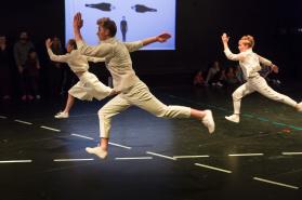 Linn Ragnarsson, Viktor Gyllenberg, Mira Björkman. Photo Martin Skoog