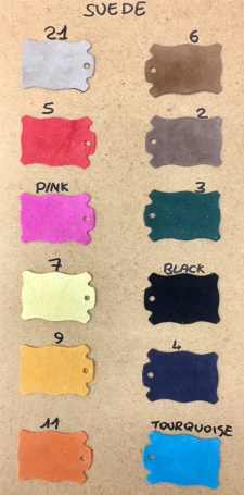 Färger på mockan