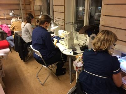 Sykurser & workshops i sömnad hos syatljén Tyglust i Laholm, 20 km från Båstad i södra Halland