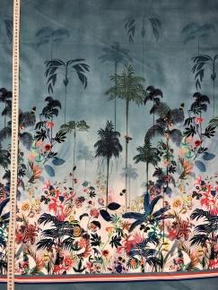 Tropisk kväll vävt tyg i bomull - Tropisk kväll