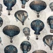 Luftballong vävd bomull