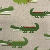 Krokodilen vävt tyg - Krokodil