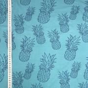 Blå ananas trikå