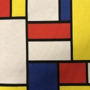 New Mondrian vävt tyg