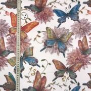 Ljuva fjärilar vävt tyg