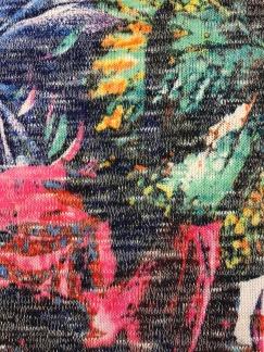 Akvarell stickat tyg - Akvarellstickat tyg