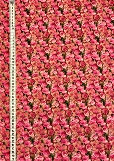 Ljuva rosor liten vävd bomull - Ljuva rosor