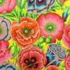 Anemon bomullstyg gult