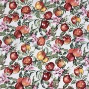 Äppelblom bomullstyg