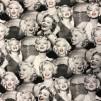 Marilyn Monroe svartvitt - Marilyn