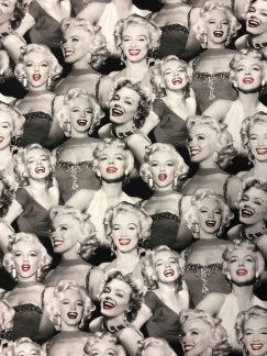 Marilyn Monroe svartvitt -