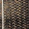 Skimrande päls brun