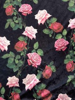 Rosentagg krossad sammet - Rosentagg