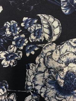 Porslinsblomma marinblå -