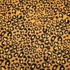 Leopradmönster på gul botten - Leopard Gul