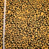 Leopradmönster på gul botten