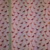 Flamingos rosa bomullstrikå