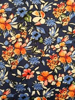 Blomster på blå botten - Blomster på blå botten