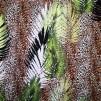 Leopard och blad - stretch - Leopard och blad stretch