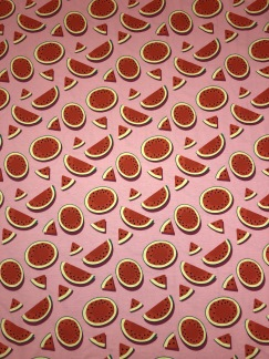 Meloner bomullstrikå -