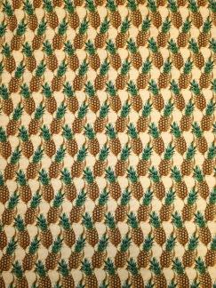 Ananas trikåtyg - Ananas trikå