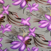 Lila lilja trikå