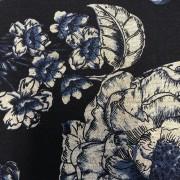 Porslinsblomma marinblå