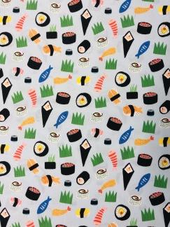 Sushi- bomullstyg -