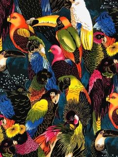 Birdies- bomullstyg -