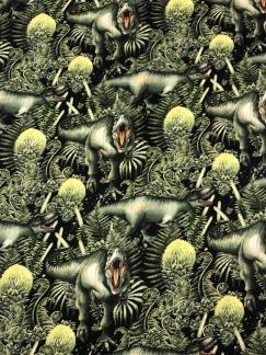 Dinosaurie- bomullstrikå -