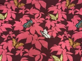 Fjärilsträdgård- rosa -